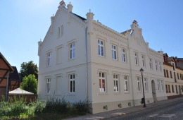 Fassadenkomplettinstandsetzung, Stavenhagen